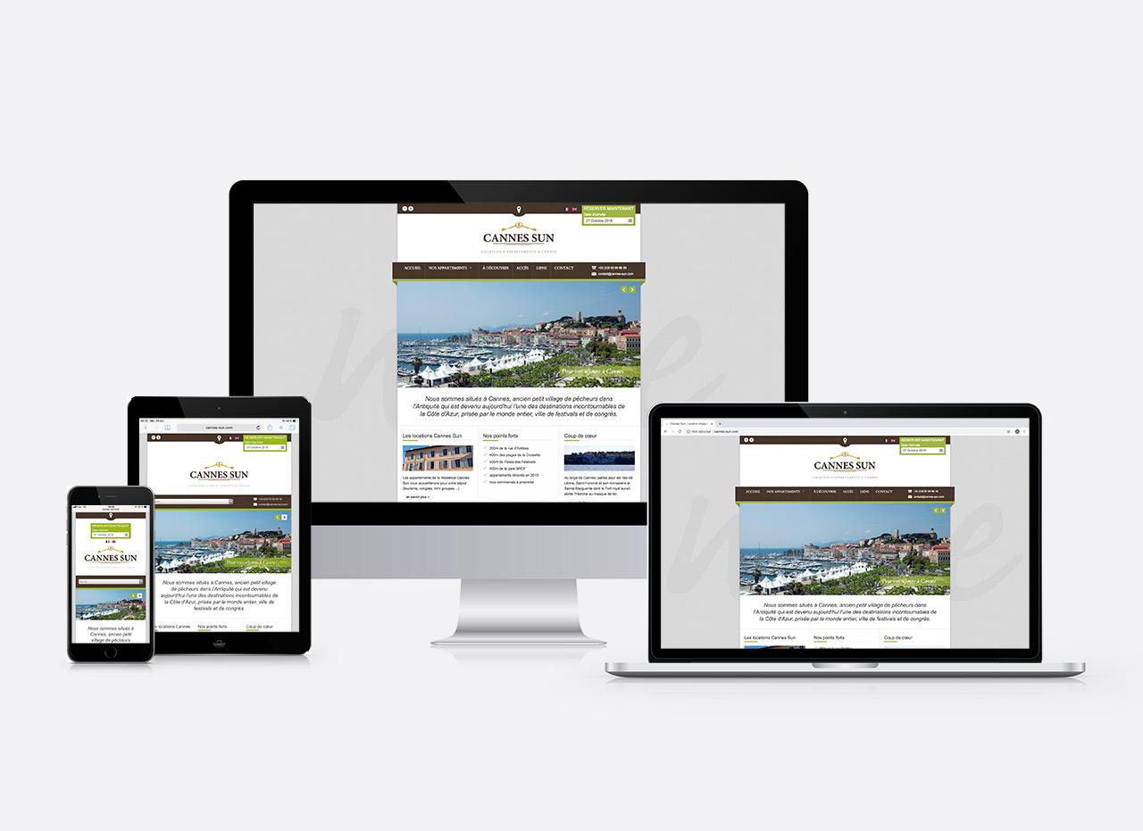 site web Cannes Sun