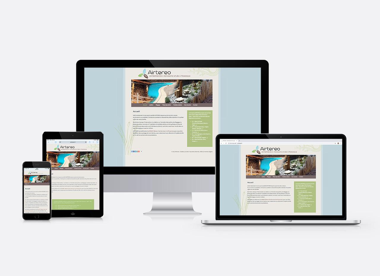 site web Airtereo