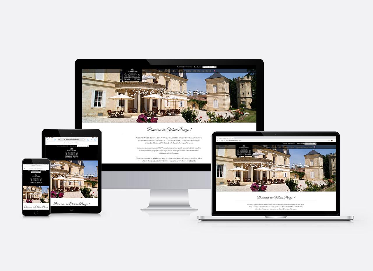 site web Château Pomys