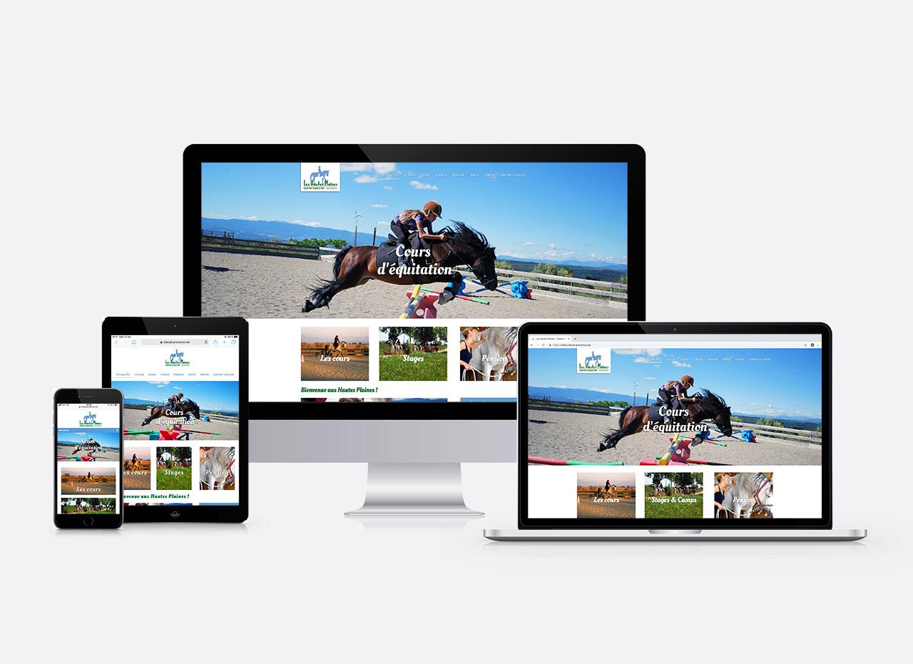 site web Les Hautes Plaines