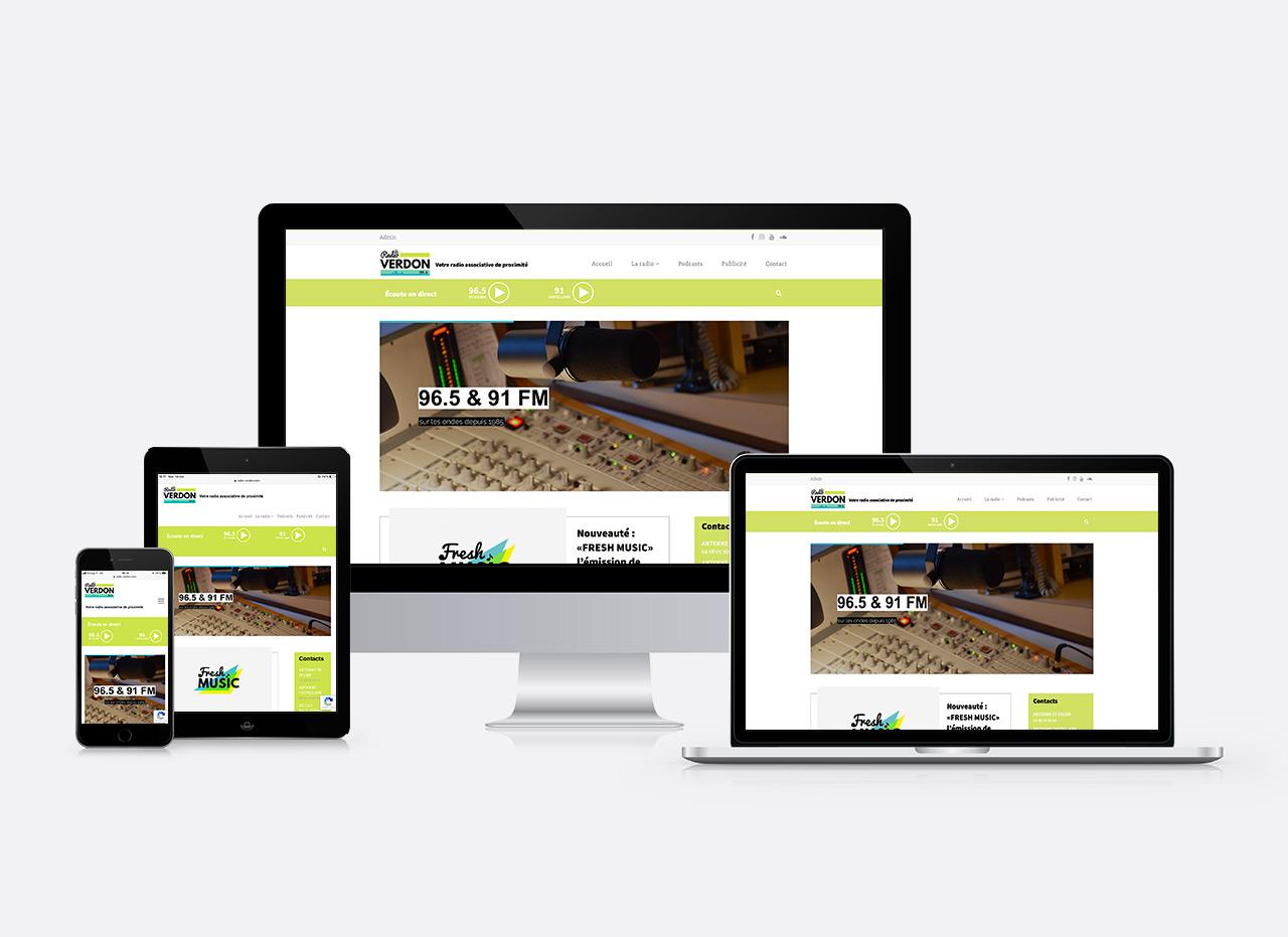 site web radio verdon