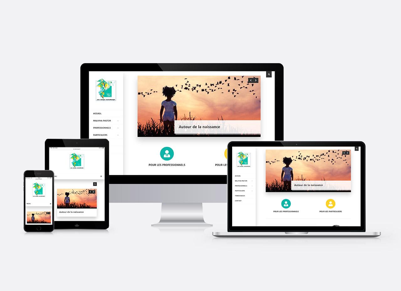 site web Malvina Pastor